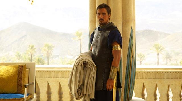Christian Bale es Moisés