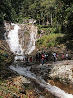 Lata Iskandar Waterfall - Route 5, Cameron Highlands