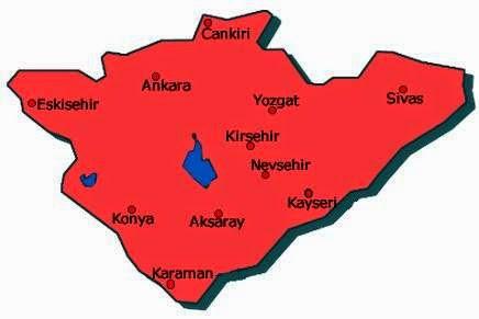İç Anadolu bölgesinin özellikleri