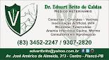 DR. EDUART BRITO DE CALDAS - MÉDICO VETERINÁRIO
