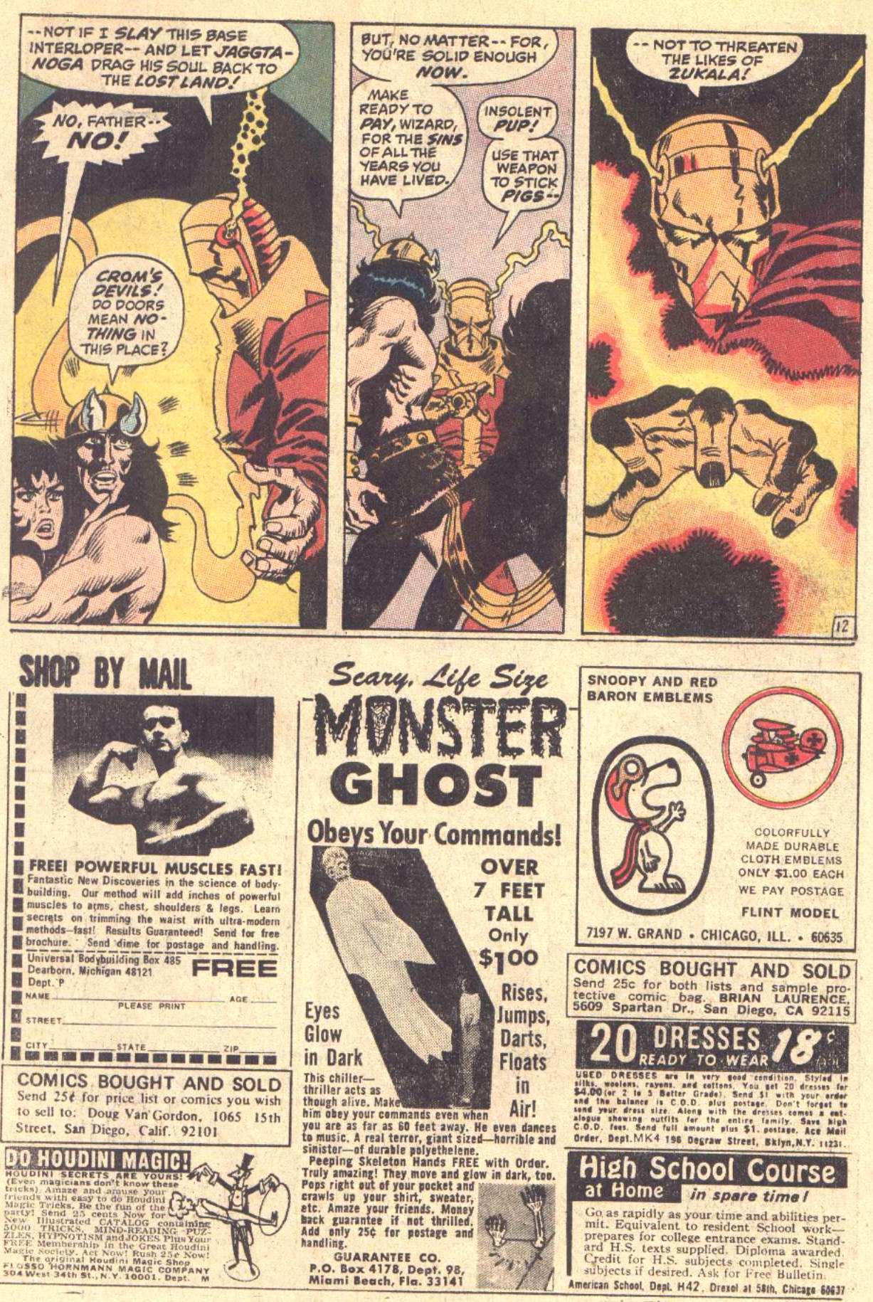 Conan the Barbarian (1970) Issue #5 #17 - English 13