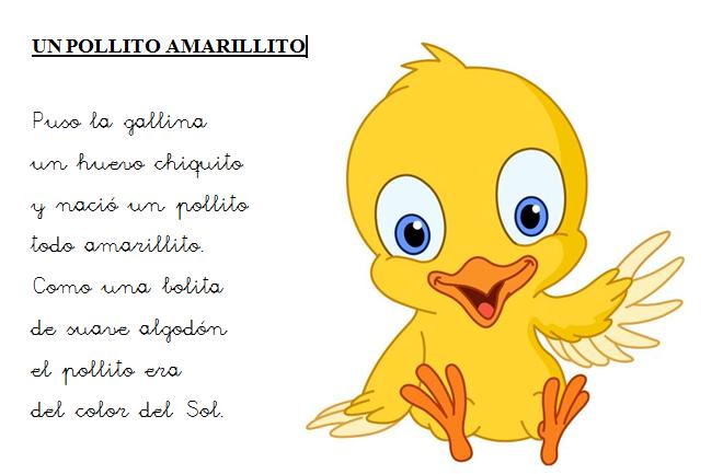 KIDS-TIC: UN POLLITO AMARILLITO
