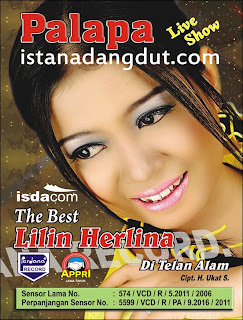 cover album, sampul album, gambar album, new pallapa best lilin herlina, dangdut koplo