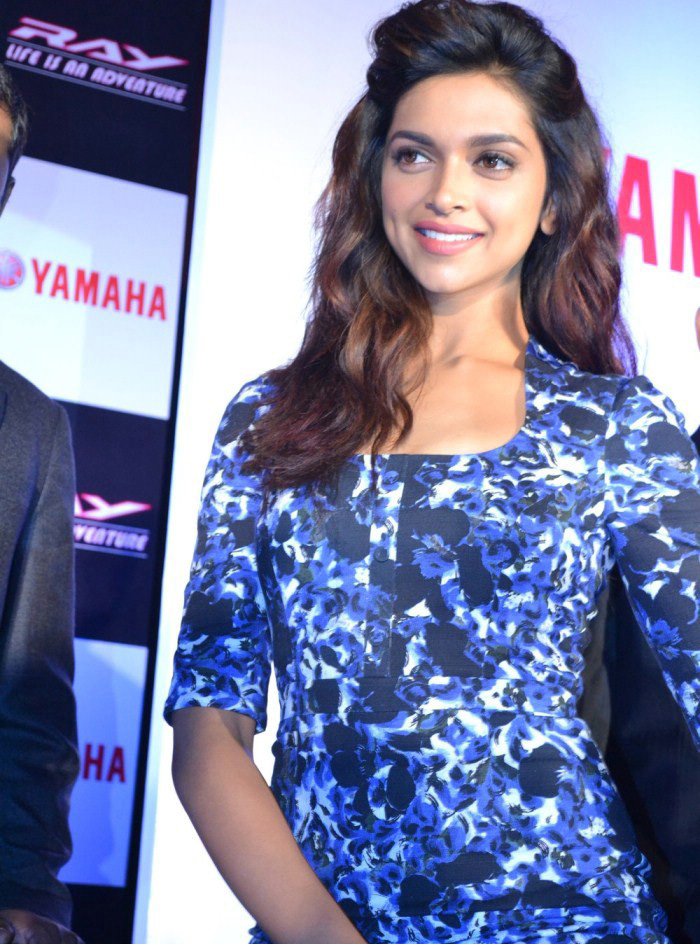 Deepika Padukone Launches Yamaha