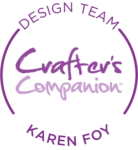 Loving being a member of the Crafter's Companion Design Team