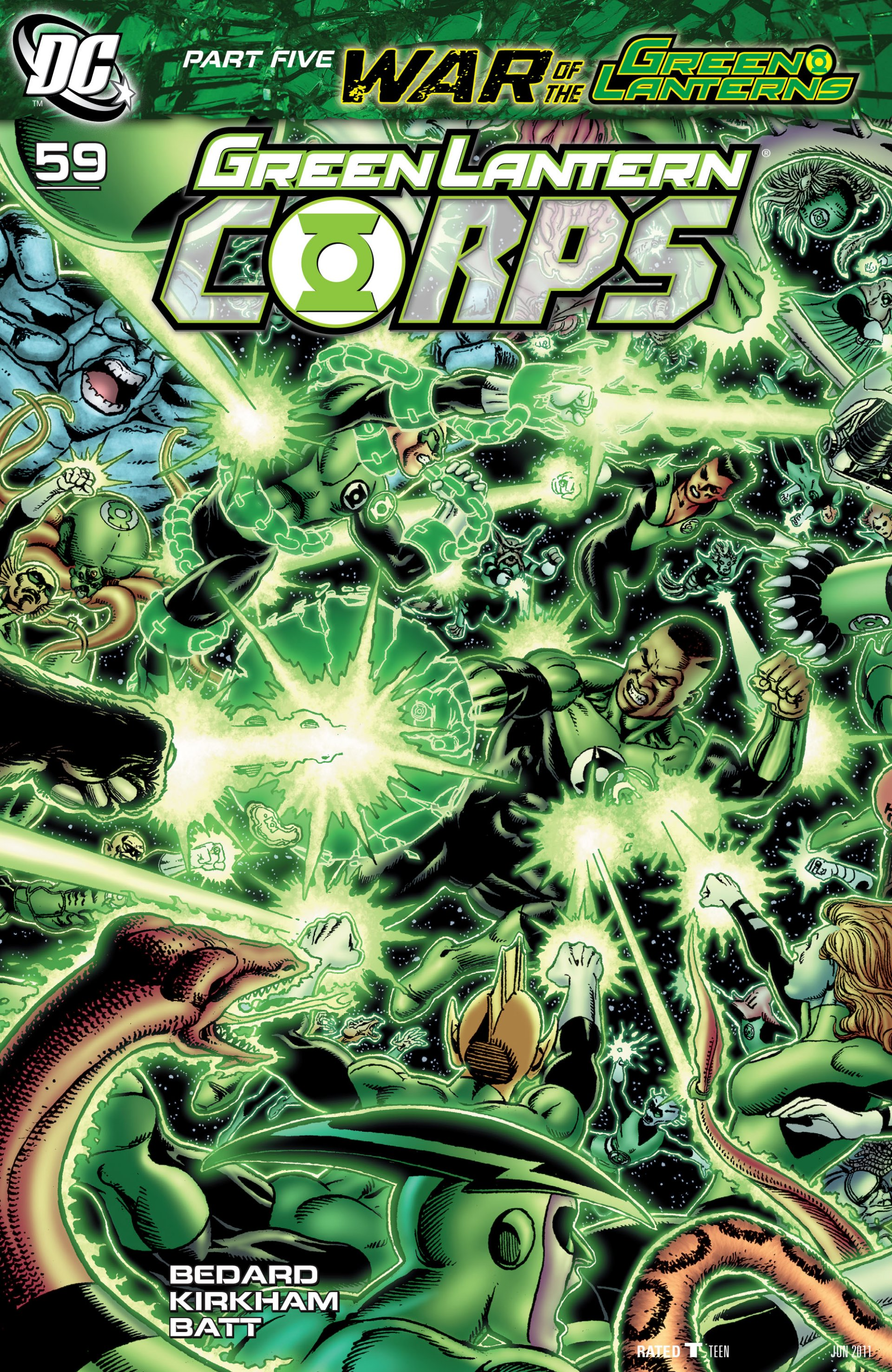 Read online Green Lantern Corps (2006) comic -  Issue #59 - 2