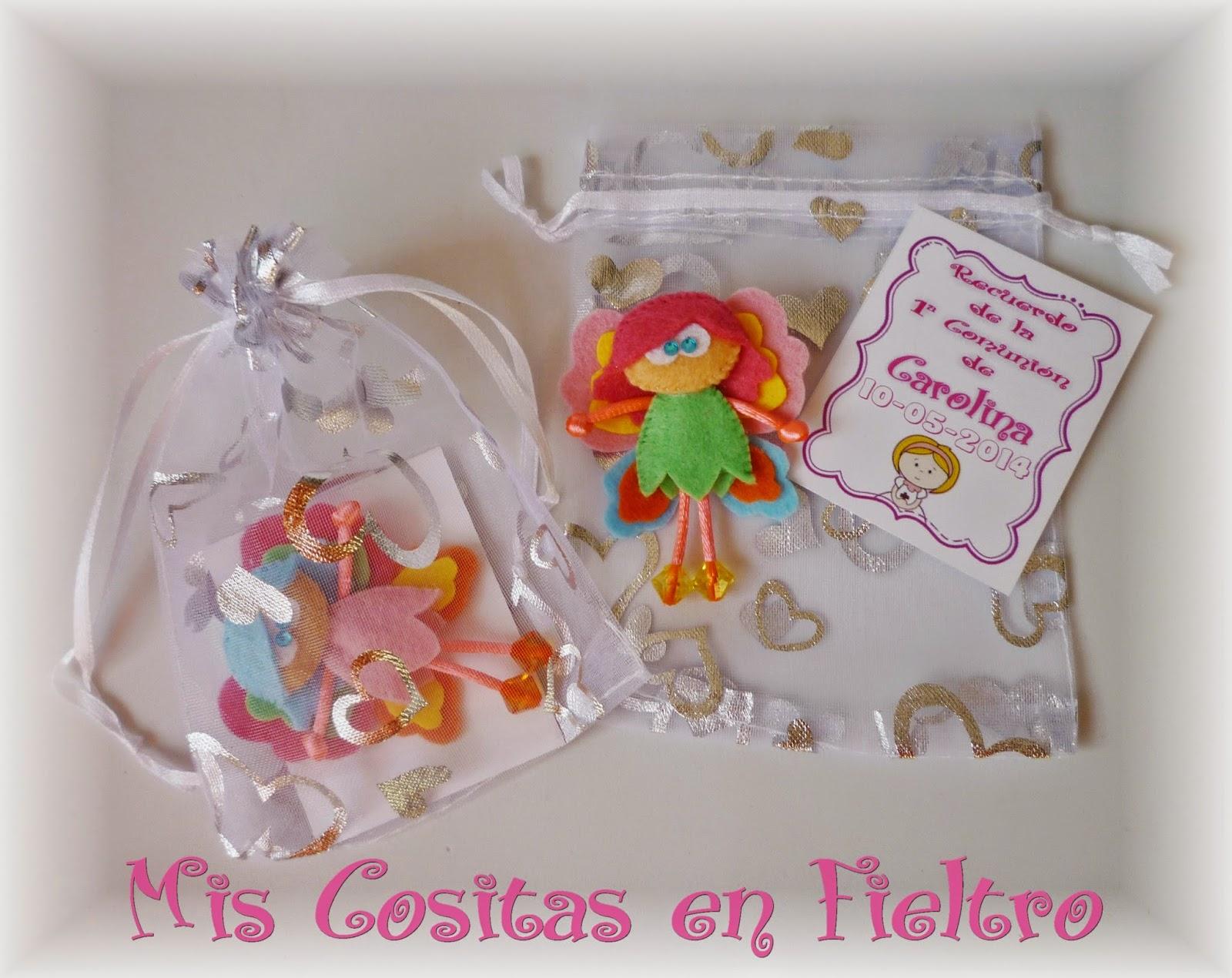primera comunión, souvenir, detalle, invitados, hada, mariposa, regalito, carolina