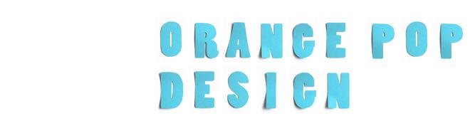 Orange Pop Design