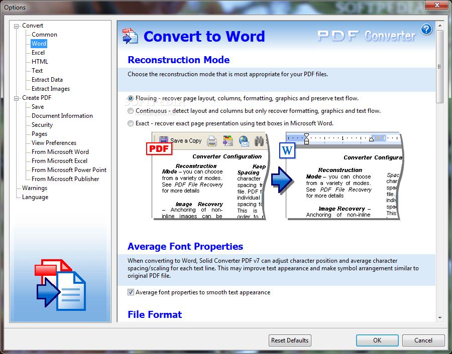 تنزيل برنامج سوليد كونفرتر على الكمبيوتر كامل باربط مباشر دونلود Solid Converter PDF