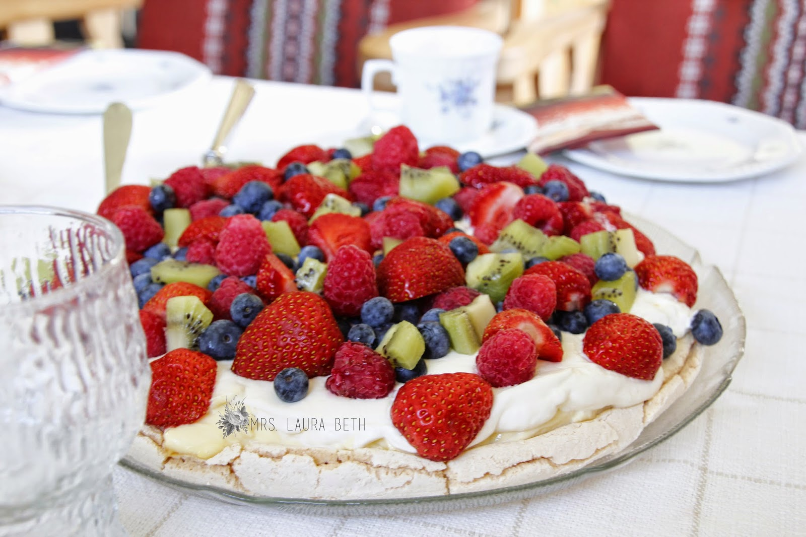 Summer Cake, Fruit Pizza