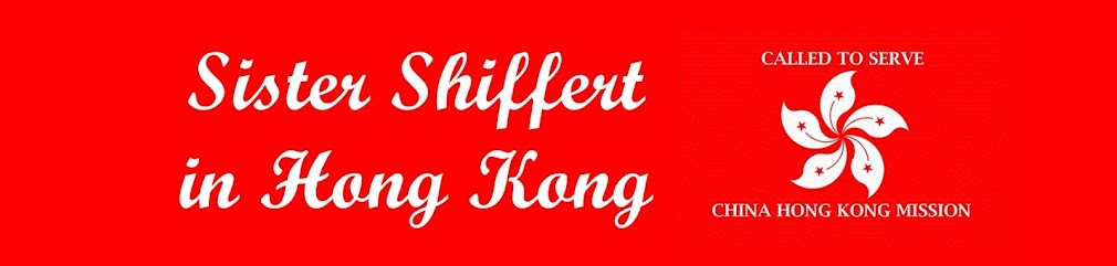 Sister Shiffert in Hong Kong