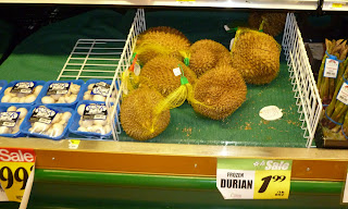 frozen durian
