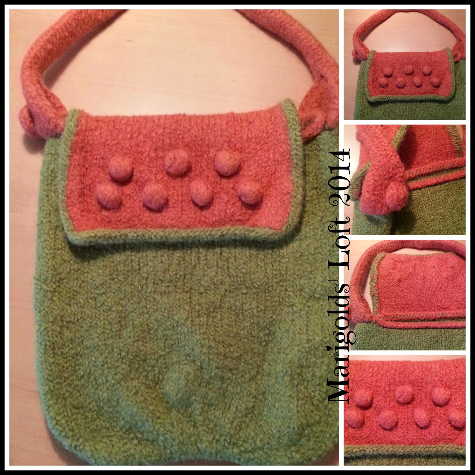felted bag tutorial step-by-step