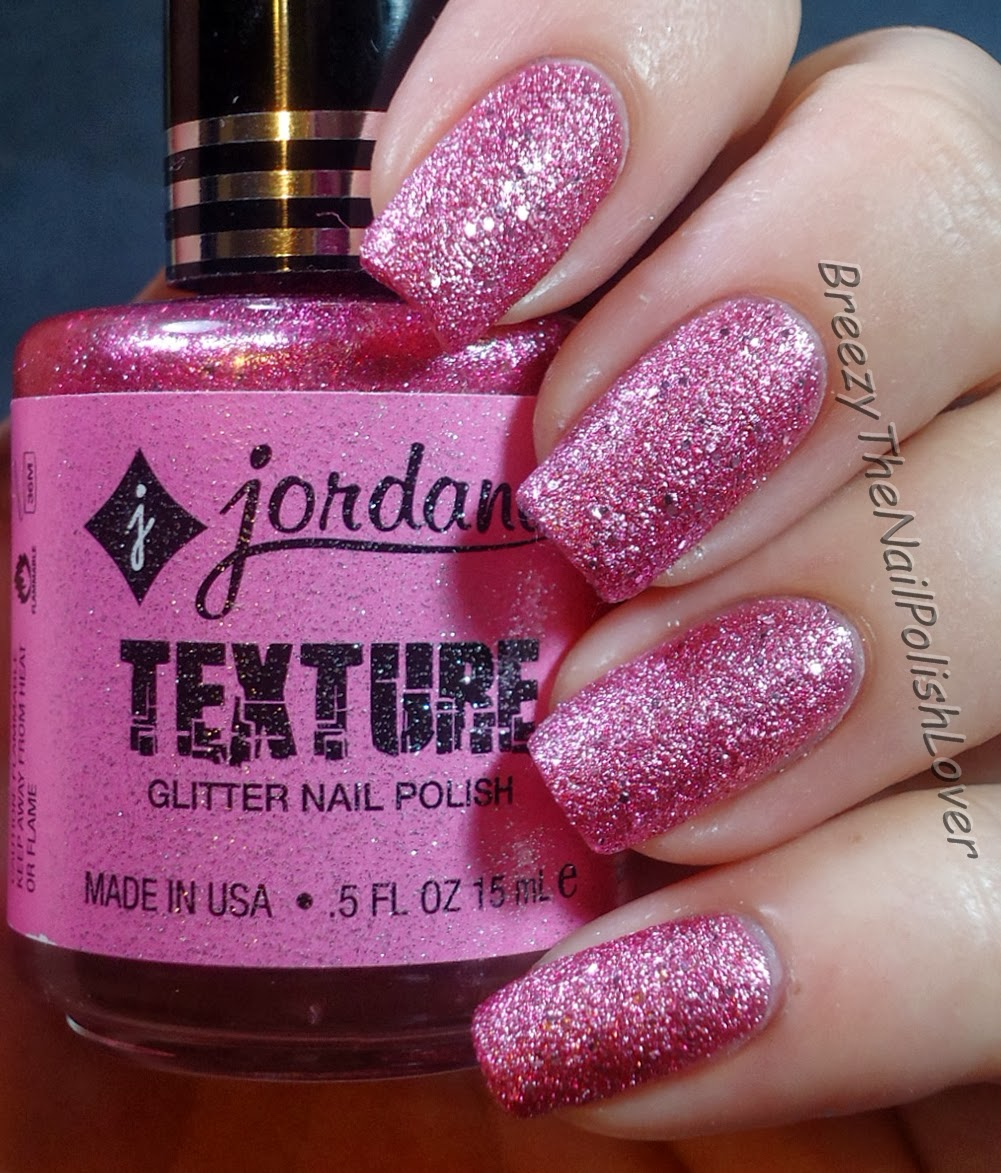 BreezyTheNailPolishLover: Jordana Texture Glitter Nail Polish Review ...