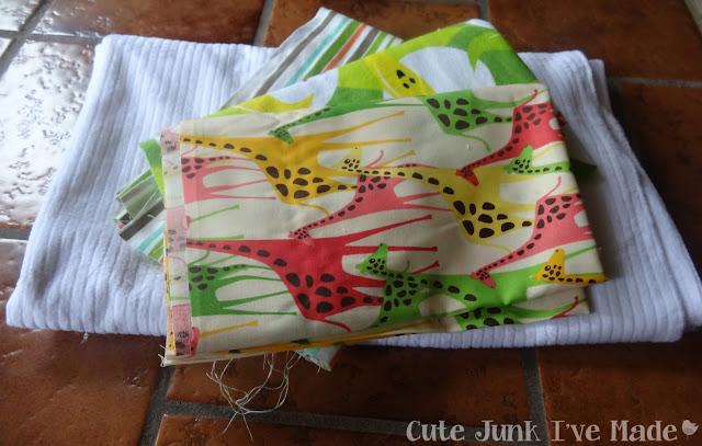 One-Hour Burp Cloths - Fabric Needed