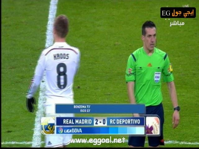 حمل اهداف مباراة اهداف مباراة ريال مدريد 2 × 0 ديبورتيفو لاكورونيا - -