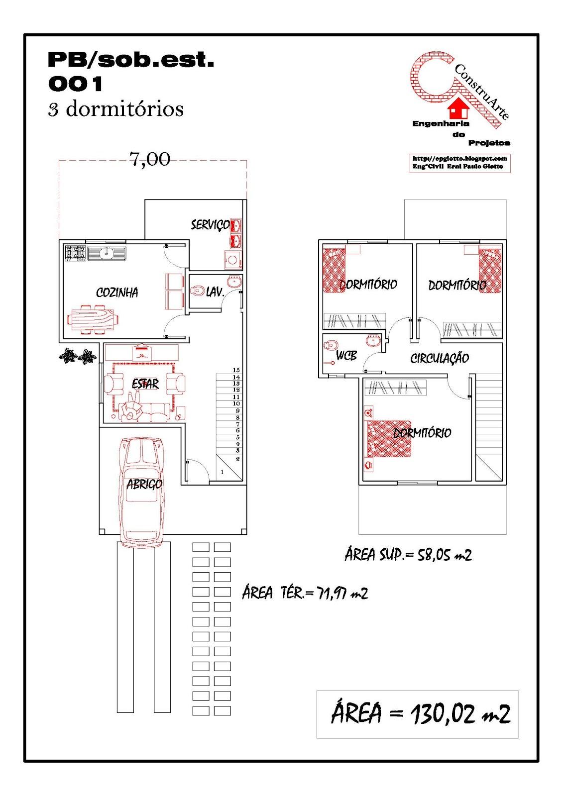 de Planta Baixa Modelos de Sobrados Planta de casa projeto #B71514 1131 1600