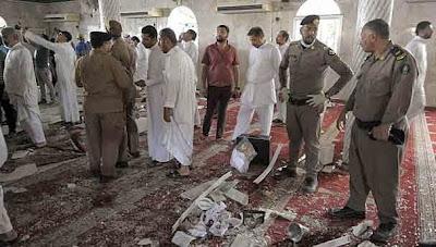 إنفجار داخل مسجد شرق السعودية