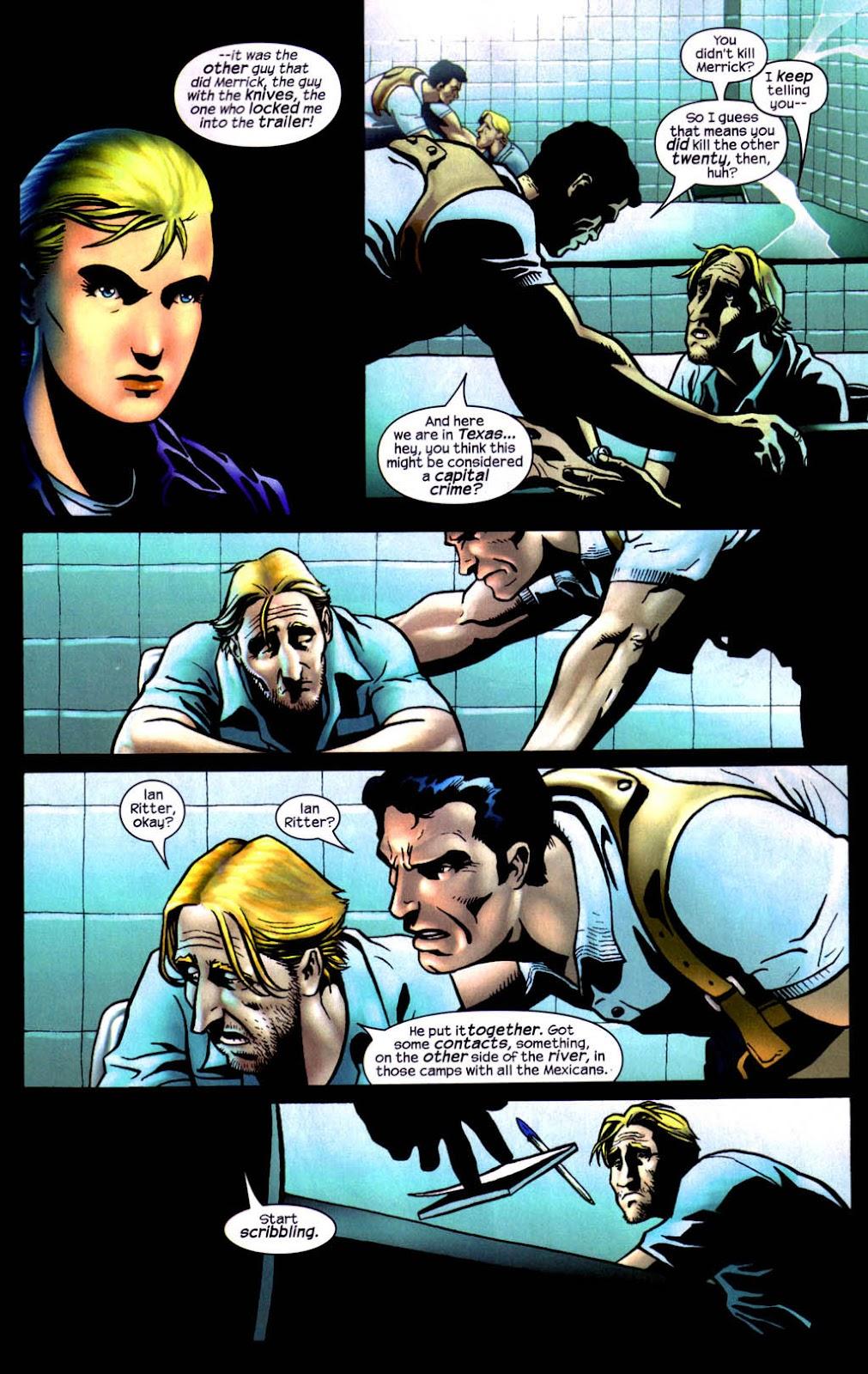 Read online Wolverine (2003) comic -  Issue #8 - 4