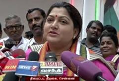 Khushboo supports Vishal team in 'Nadigar Sangam Election' | Super Housefull