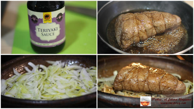 Lazy blog solomillo de ternera en salsa teriyaki receta for Como preparar solomillo
