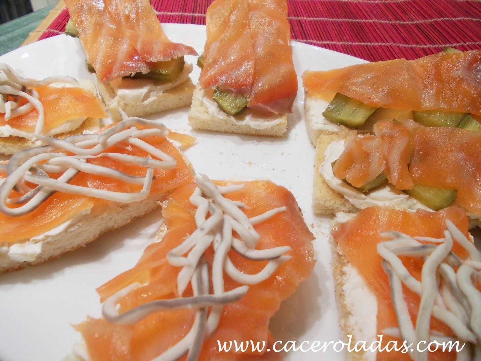 6 aperitivos y canap s sencillos caceroladas for Canapes y aperitivos