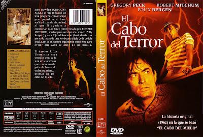 Carátula, Cover, Dvd: El cabo del terror | 1962 | Cape Fear