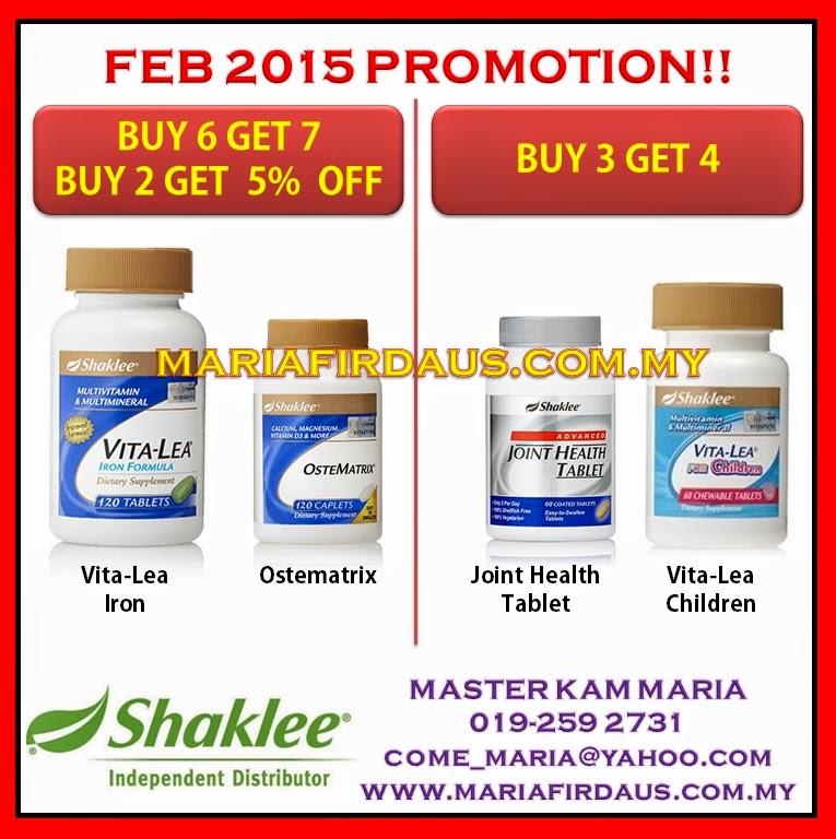 Promotion Feb 2015!!