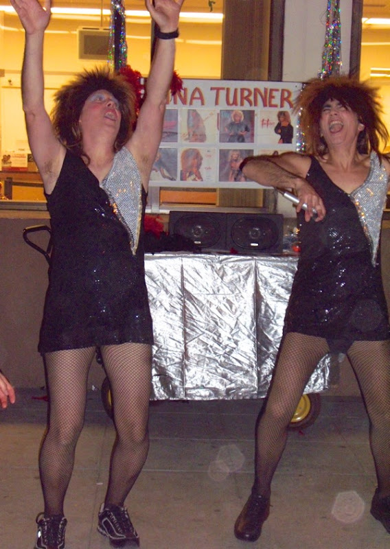 Tina Turner costumes West Hollywood Halloween 2009