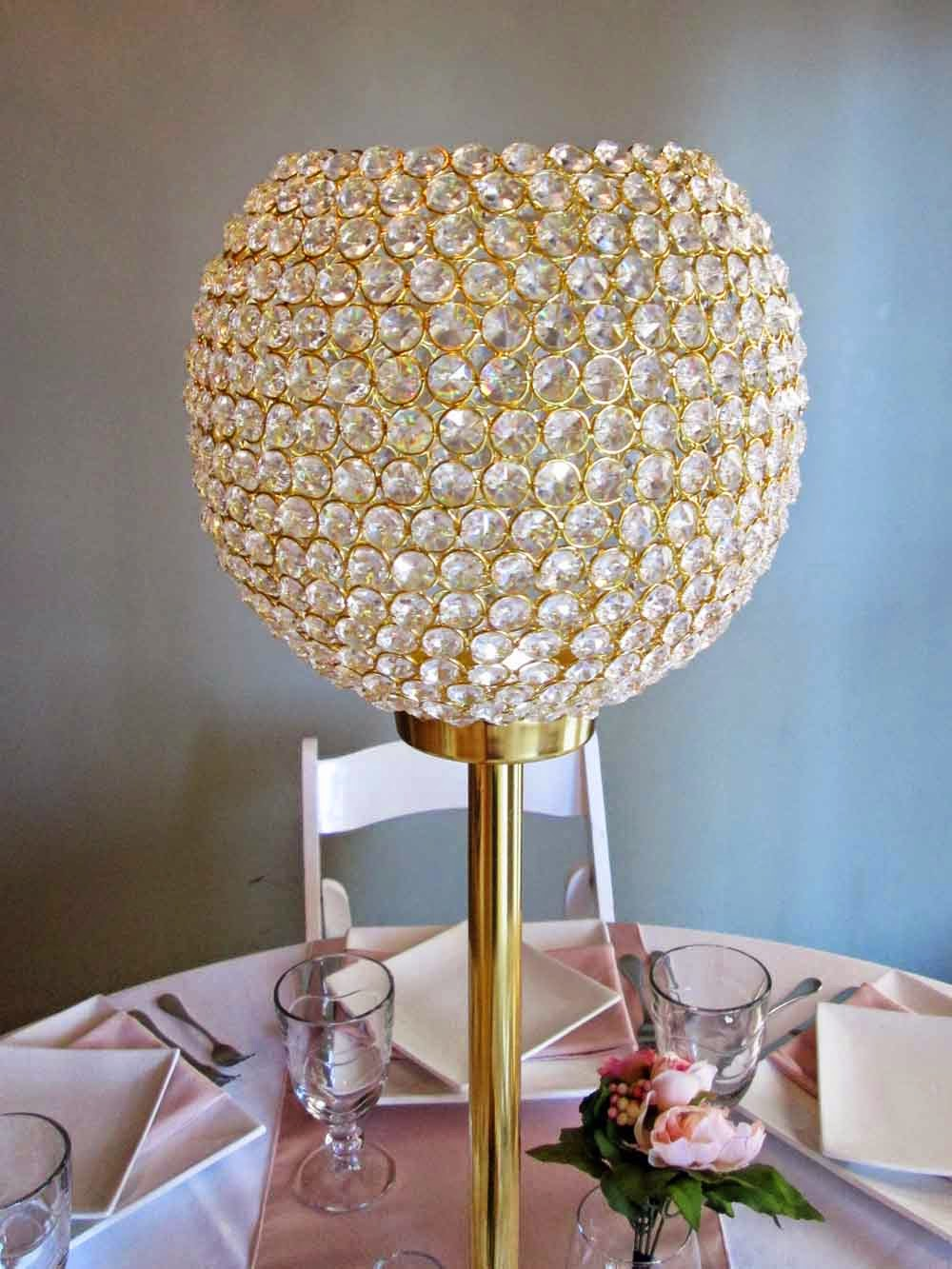 Rental highlight crystal beaded vase on gold stand elite events rental highlight crystal beaded vase on gold stand reviewsmspy