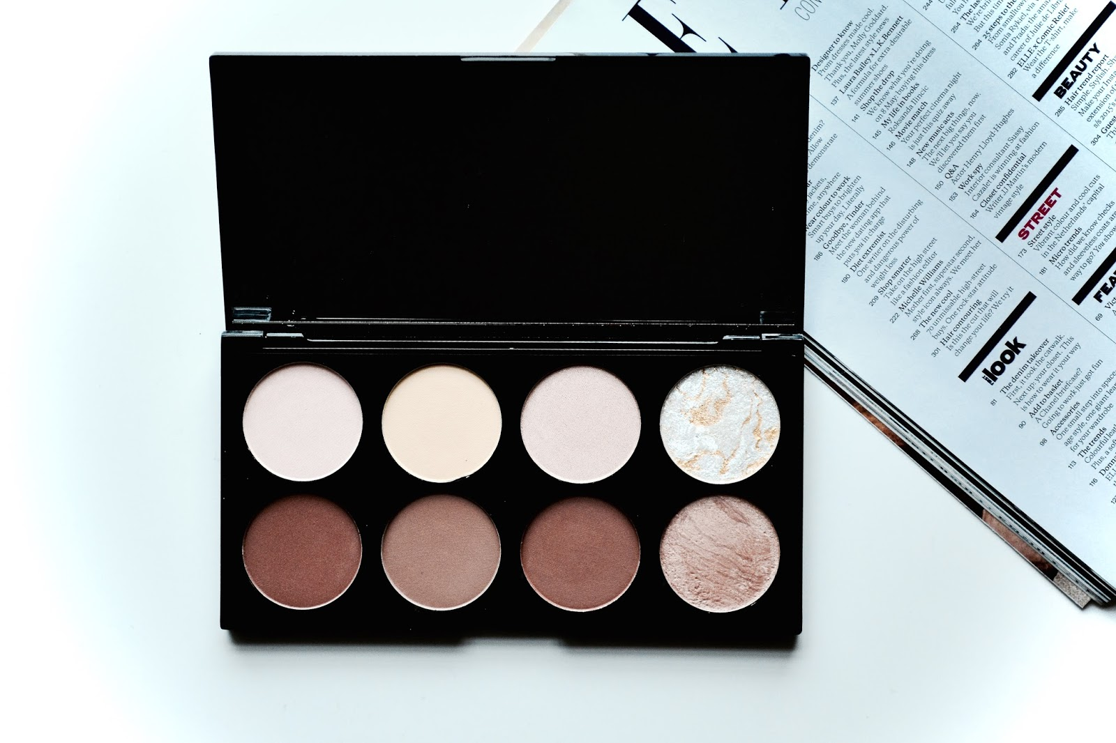 Makeup Revolution, Ultra Contour Kit, Contouring, Highlighting, Makeup Revolution Ultra Contour Palette. Makeup, Beauty, Powder, Mac, Dupe