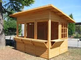 Maderas el modelo kioscos en madera for Disenos de kioscos de madera