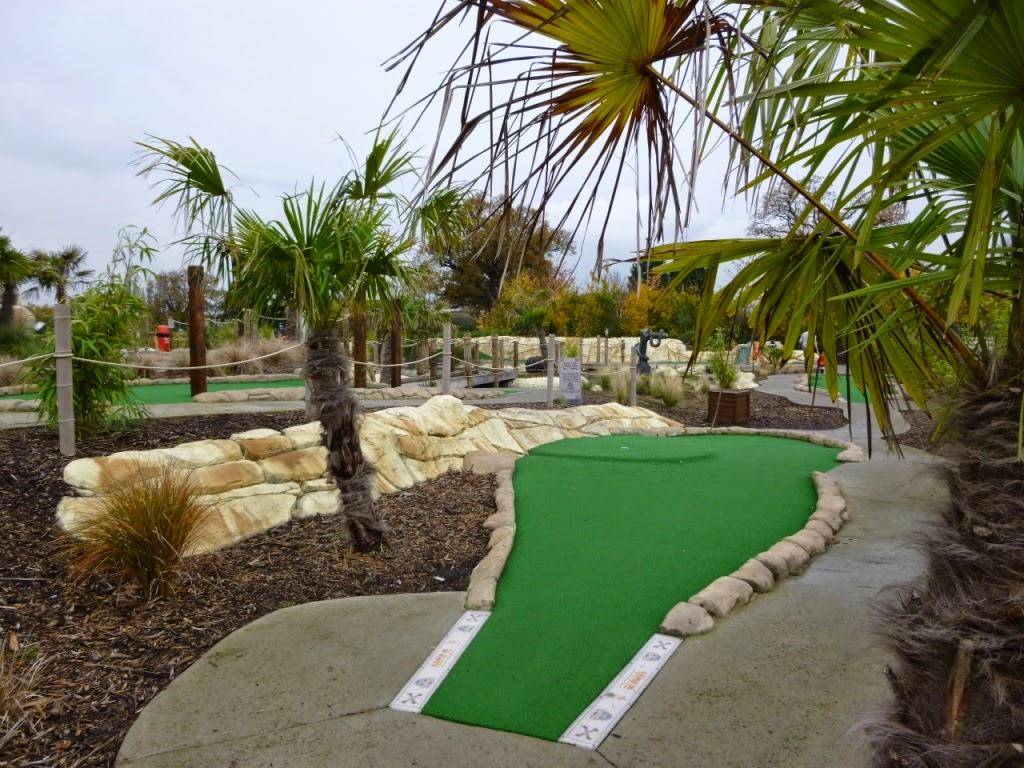 Jungle Island Adventure Golf at Horton Park Golf Club in Epsom, Surrey