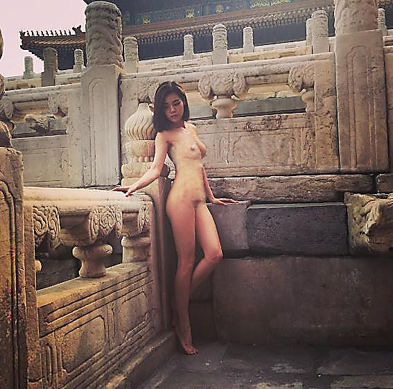 Staff of The Forbidden City had tried to stop the shoot (photoshop)