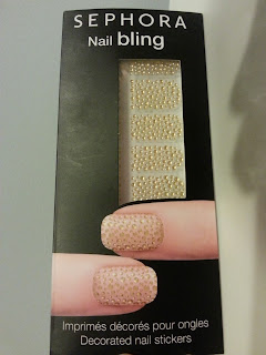 3d nail stickers golden drops