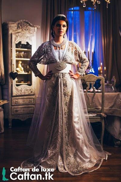 Caftan 2014 | robe de mariée blanche