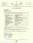 Shaklee Halal Certificate 2015