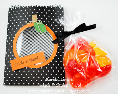 mini treat bag stampin up, good greetings