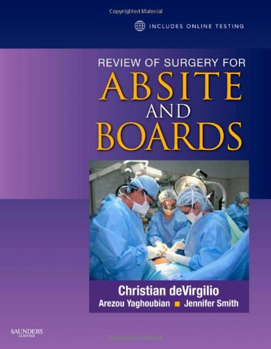 best general surgery board review books