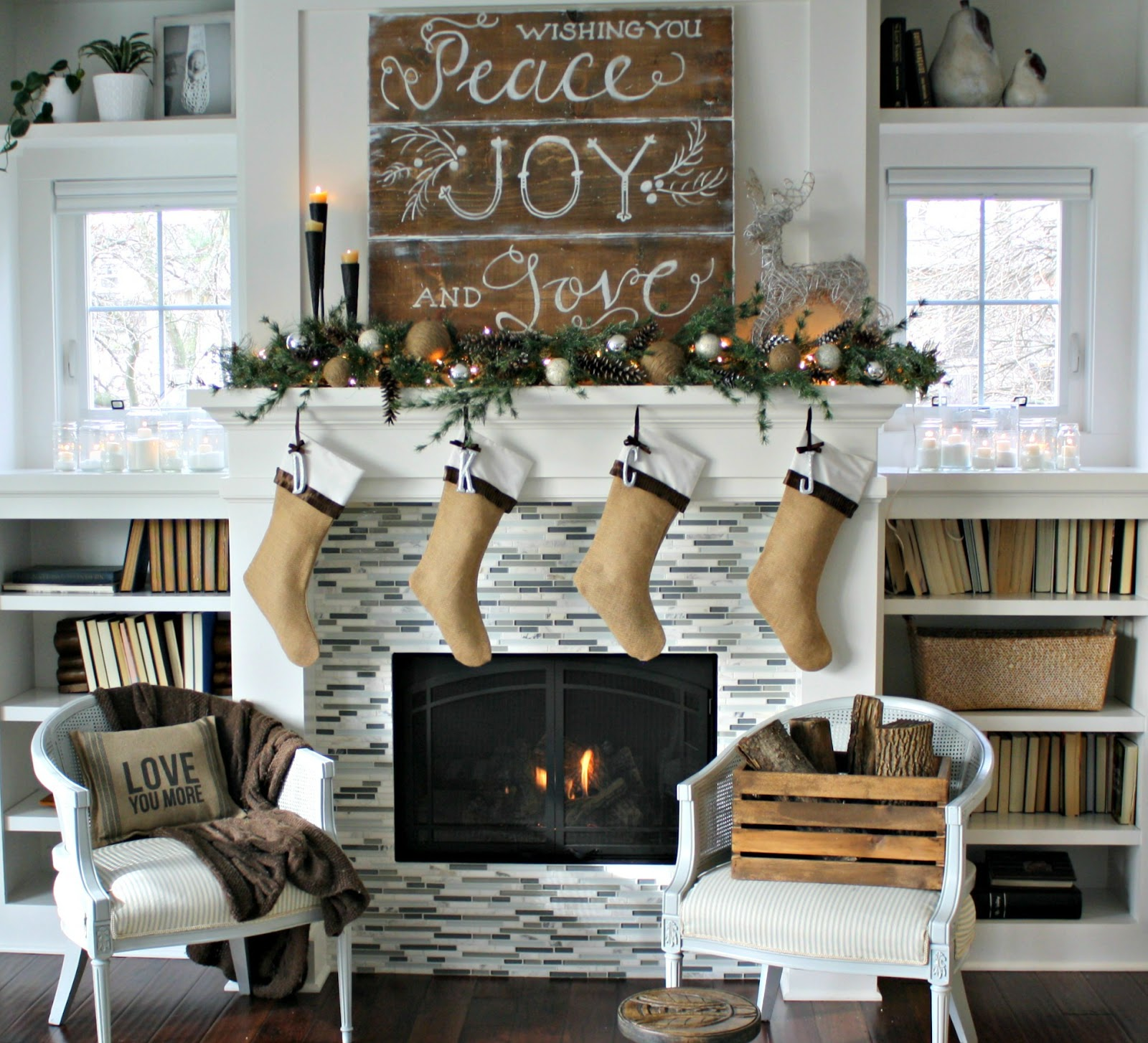 Design Christmas Mantel Ideas christmas mantel the lilypad cottage nature mantel