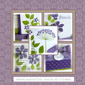 Summer Silhouettes August Kit Tutorial 2012