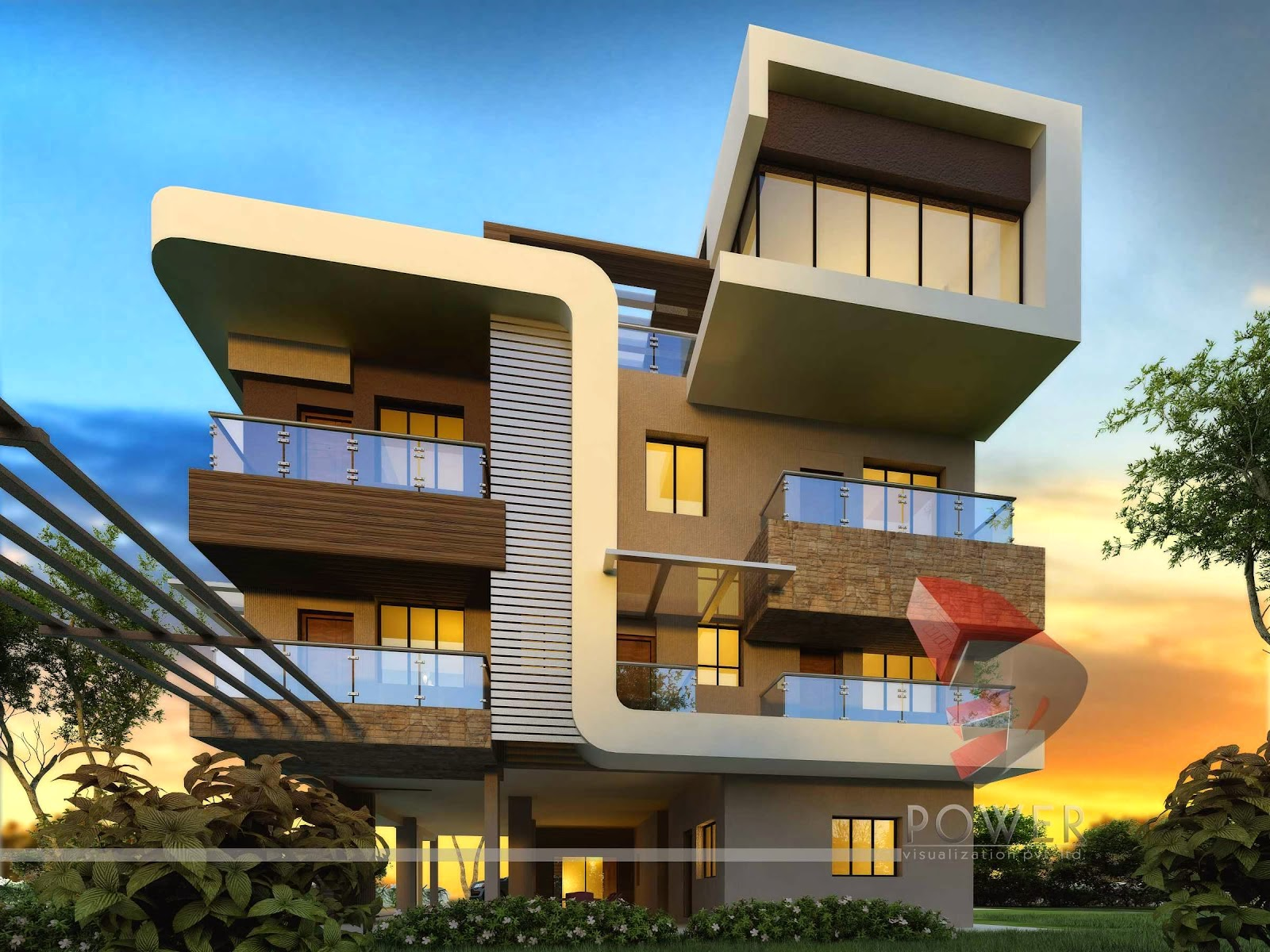 Ultra Modern Home With Cube