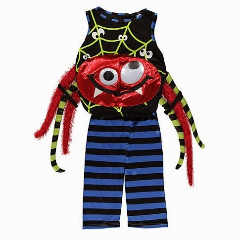 mamasVIB | V. I. BUYS: Halloween Style from the Supermarket, spider costume | george at asda | halloween | mamasVIB