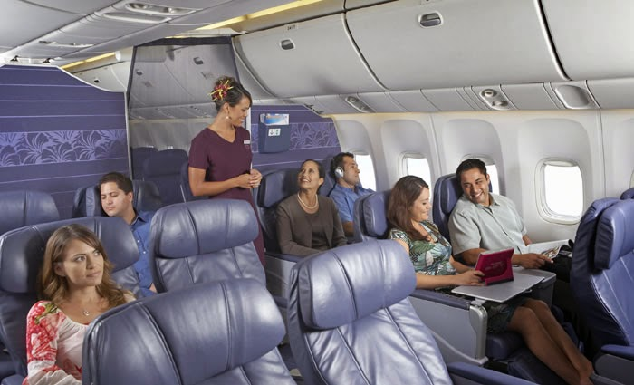 gallery for hawaiian airlines first class