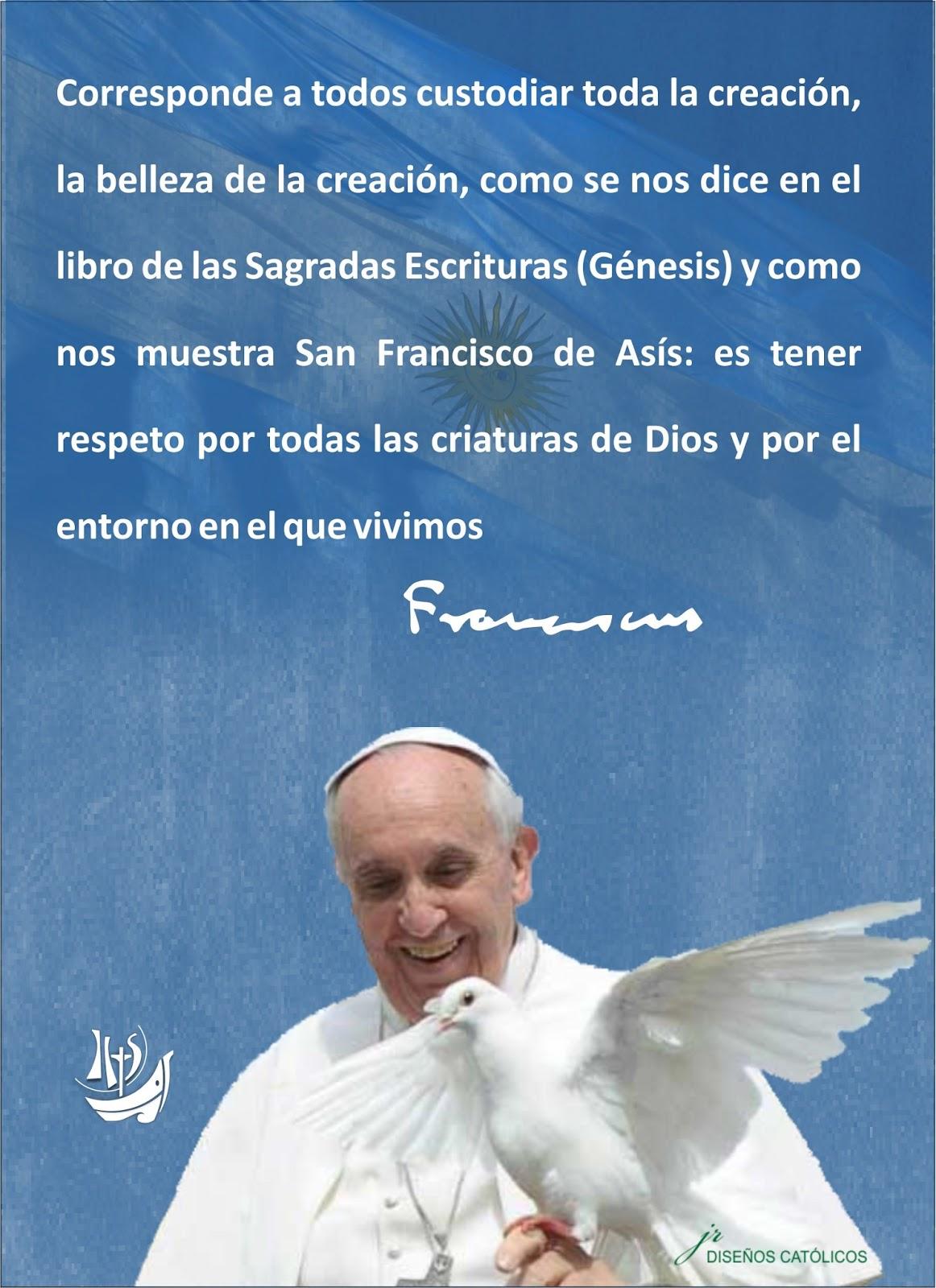 Imagenes con frases del Papa Francisco | Imagenes Para