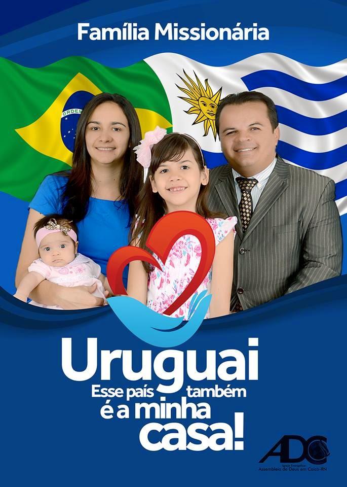 AD em Caicó-RN enviará família missionária para o Uruguai