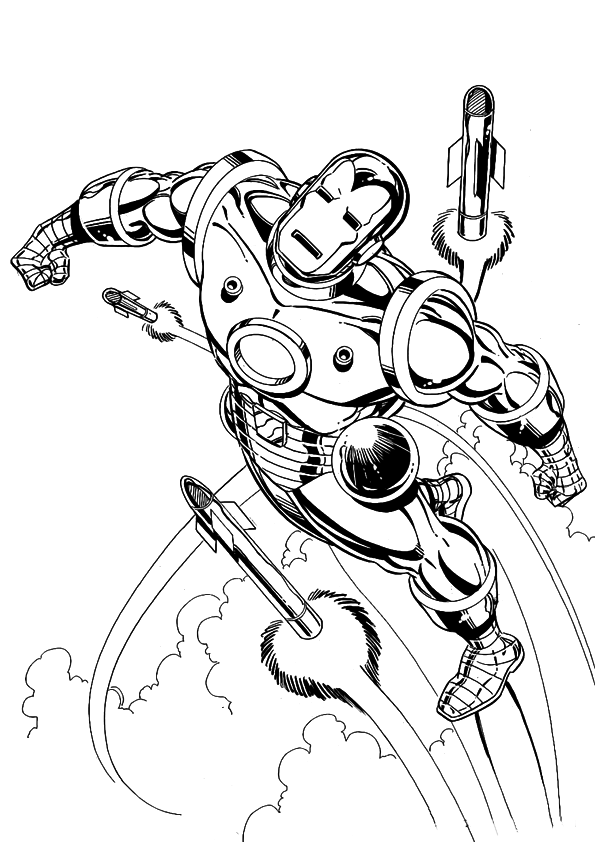 Iron Man Coloring Pages Printable Best Gift Ideas Blog