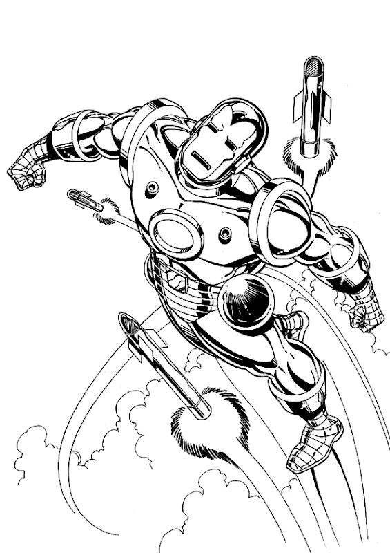Iron Man Coloring Pages Printable title=