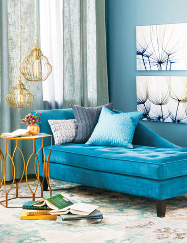 Dise os coloridos para hogares j venesmodern and vibrant for Muebles complementarios