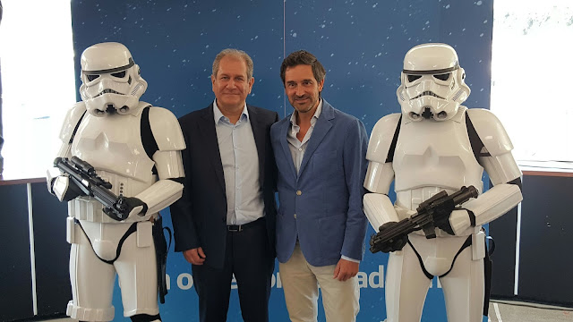 Telefónica y Disney llevarán el mundo 'Star Wars' a Movistar+ con un canal exclusivo